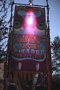 Midway of the Bizarre Entrance Sign