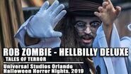 Rob Zombie Hellbilly Deluxe Scare Zone, Universal Orlando Halloween Horror Nights 2019