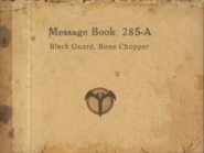 Blood Thunder Alley Message Book 1
