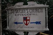 St. Sarah's Church Episcopal Sign