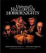 HHN 2006 Website Poster