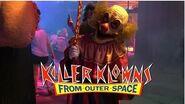 Killer Klowns from Outer Space HHN28 Scarezone Walkthrough