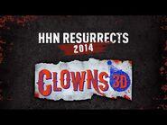 -HHNForever - Clowns 3D 2014 POV Maze Walkthrough