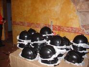 HHN 15 Terror Mines Helmets