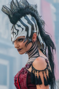 Stiltwalking Zebra Girl 6
