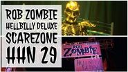 Rob Zombie Hellbilly Deluxe Scare Zone Walkthrough Halloween Horror Nights 2019