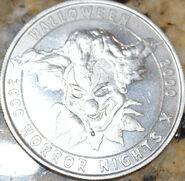 HHN X Silver Parade Coin Front