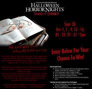 HHN15 contest