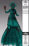 Lady Liberty Concept Art (The Purge Election Year)