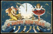 New Year's Eve Postcard