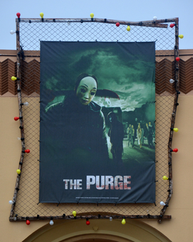 HHN 25 The Purge Front Gate Banner.png