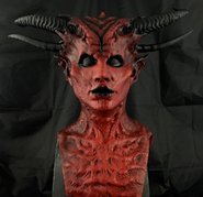 Demon Stilt Queen Mask