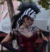 Stiltwalking Zebra Girl 12