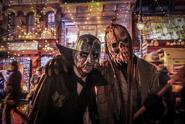 "Screenshot 2020-12-01 USH Hacker on Instagram ""When scarezones meet in the rain😭 - Last night was a disaster All mazes exc-...-"