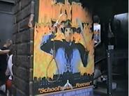 Hells High Facade Poster