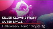 Killer Klowns from Outer Space highlights Halloween Horror Nights 29 at Universal Orlando
