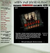 HHN 2004 Hellgate Prison Website Description