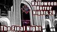 Halloween Horror Nights 26 Final Night Vlog