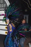 Carnival Peacock Girl 4