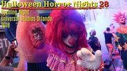 Halloween Horror Nights 2018 OPENING NIGHT Universal Studios Orlando Scare Zones & Houses!