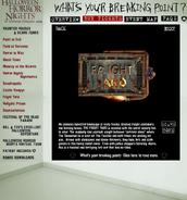 HHN 2004 Fright Yard Website Description