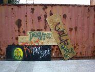 HHN XIV Fright Yard Graffiti 2