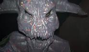 Stiltwalking Radioactive Demon Close-Up