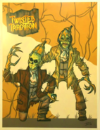 Twisted Tradition Art