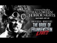 Universal Monsters- The Bride of Frankenstein Lives - -UniversalHHN 2021