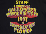 HHNVII Staff Shirt Back