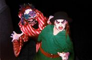 Toy Hell Leprechaun and Clown