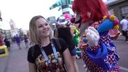 Halloween Horror Nights Killer Klowns from Outer Space Scare Zone...