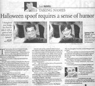 HHN13 Newspaper article