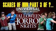 Scare Reactions at Halloween Horror Nights 28 Universal Orlando Part 3