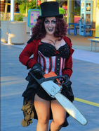 Chainsaw Carnie (Ringmistress)