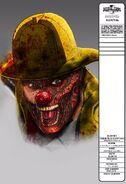 Fire Fighter Clown Close Up Concept Art