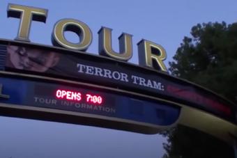Terror Tram Chucky's Revenge Sign.png