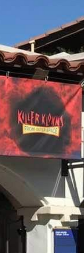 HHN 2019 Killer Klowns From Outer Space Front Gate Banner.png