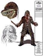 Lizard Freak Boy Concept Art