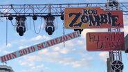 "Rob Zombie ""Hellbilly Deluxe"" Scarezone Day Night - HHN 2019 (Universal Orlando)"