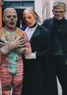 Mummy, Erik, Frankenstein's Monster