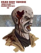 Shaun of the Dead 2009 Zombie