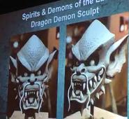 Dragon Demon Sculpt Masks