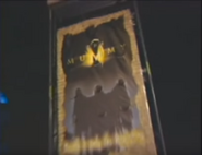The Mummy Entrance Sign