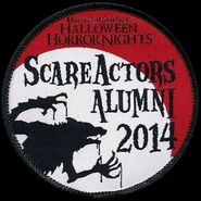 HHN 2014 Hollywood Scareactor Badge
