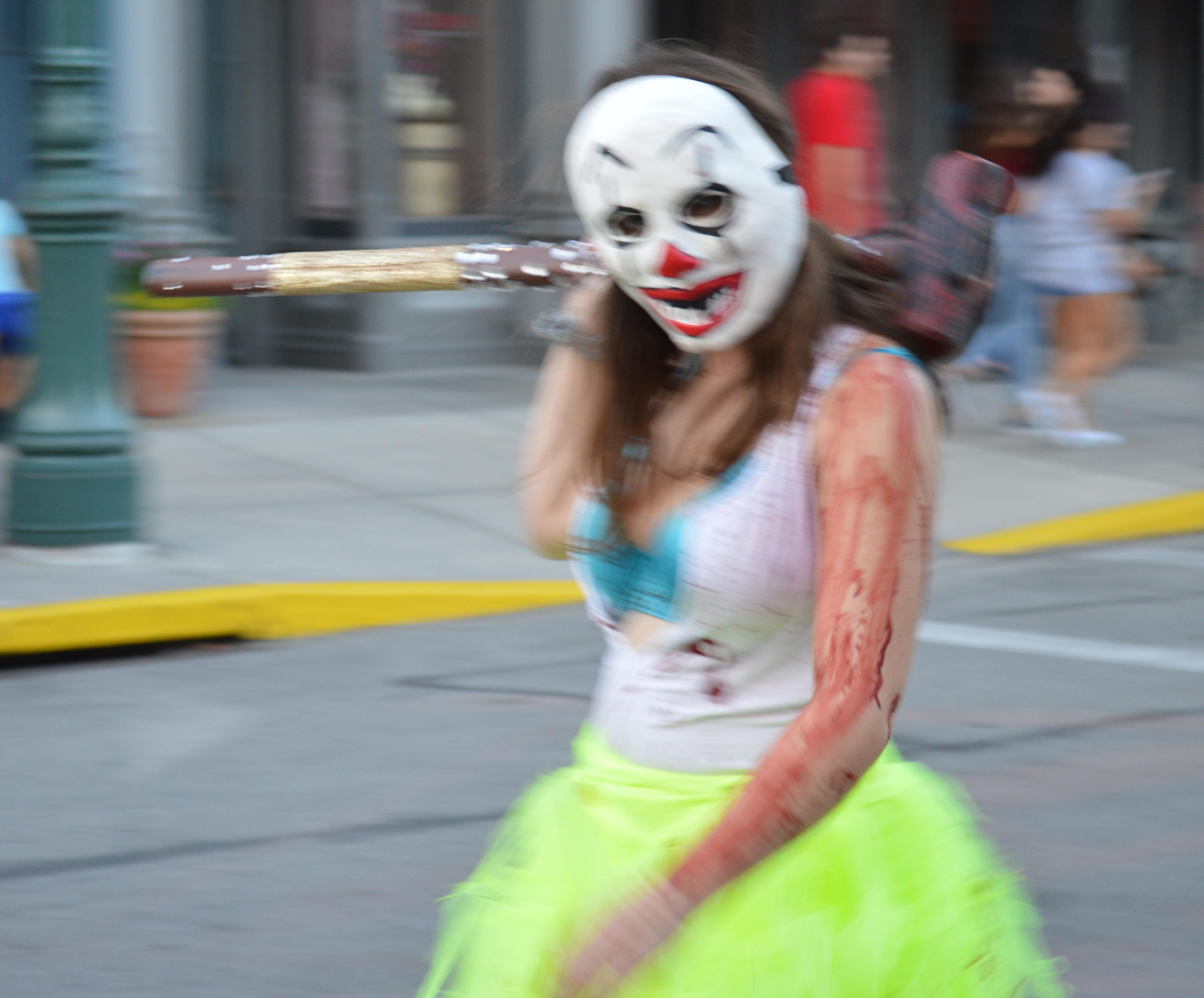 Clownface Girl Purger