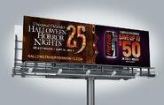 HHN 25 Billboard