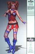 Purge Election Year Go go Dancer 1 Cocnept Art
