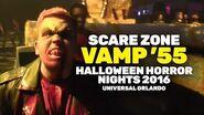 Vamp '55 Scare Zone at Halloween Horror Nights 2016, Universal Orlando