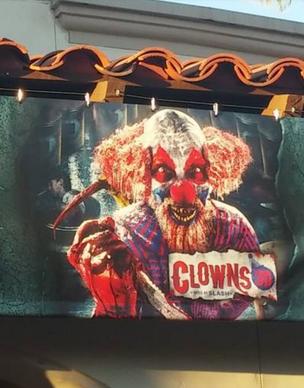 HHN 2014 Clowns 3D Front Gate Banner.png